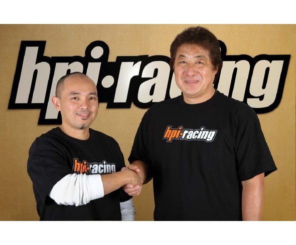 hpi racing, Torrance Deguzman, R&D Team, rcca, radio control, rc car action, photo 2, handshake