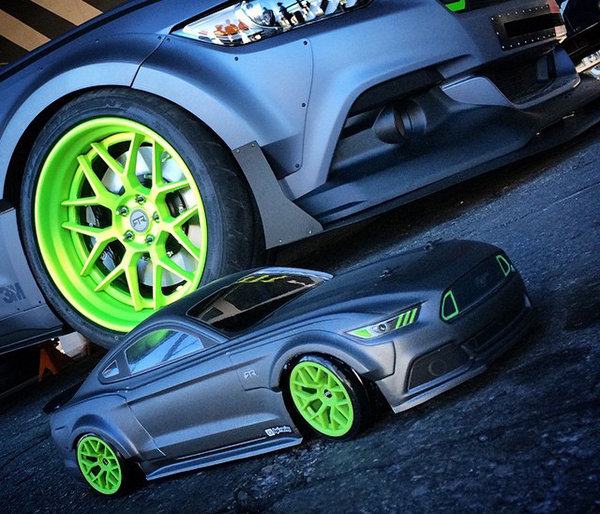 Spotted At Sema Hpi Ford Mustang Rtr Spec Concept Rc Car Action