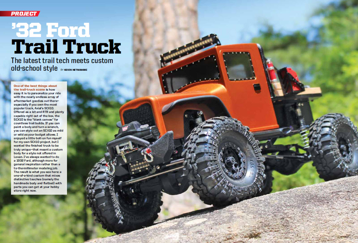 Monster Scale Trucks Special Available Now Rc Car Action