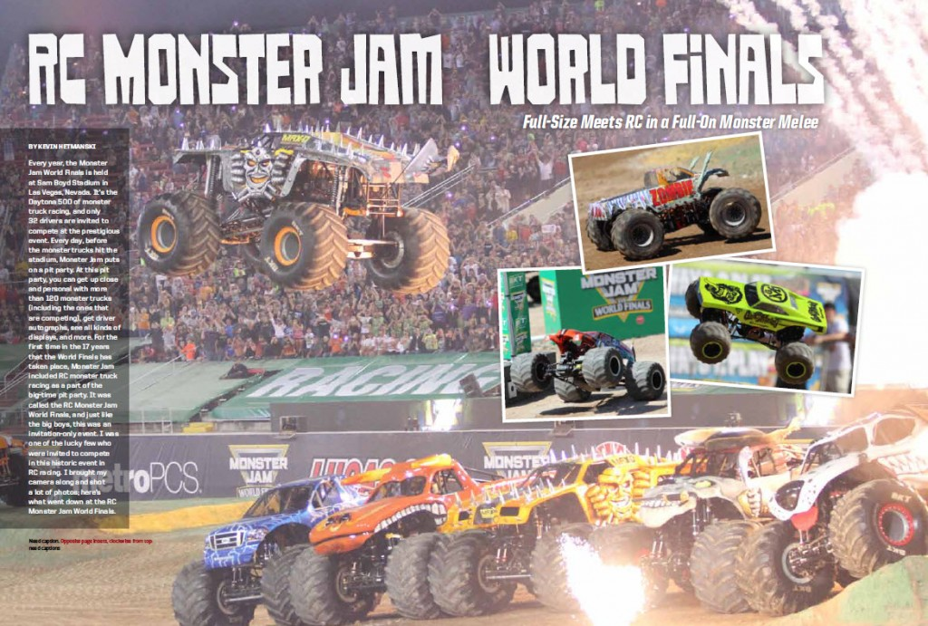 Monster and Scale Trucks Sneak Peek monster Jam