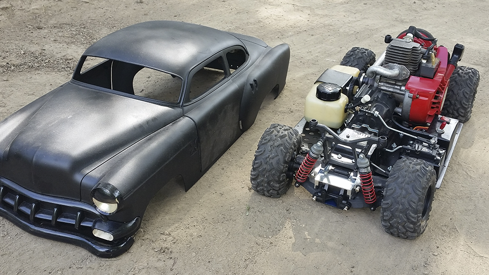 Rat Rod, gas power, Team Associated, Monster GT, Pro-Line, FlySky