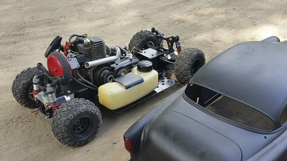 Rat Rod, gas power, Team Associated, Monster GT, Pro-Line, FlySky