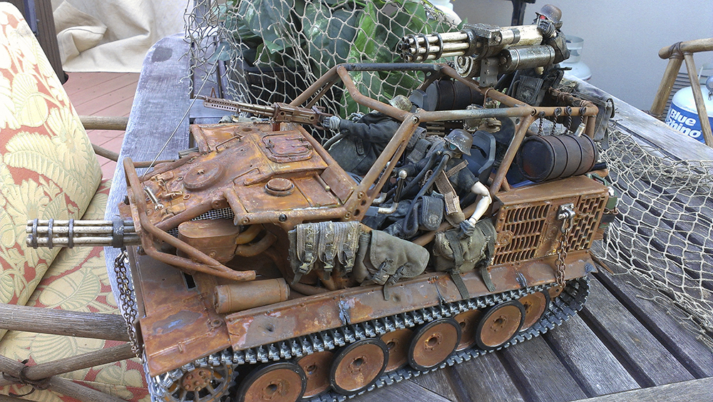 RC Tank, Axial Wraith, Ashley Wood