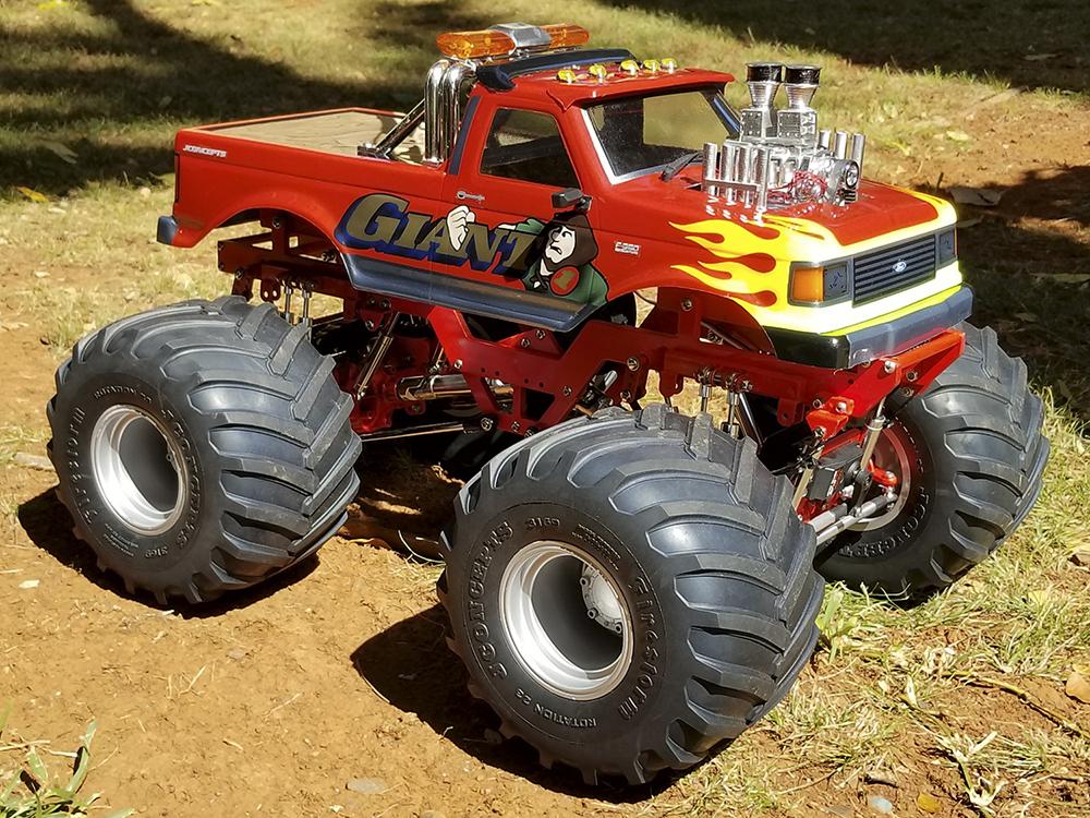 Custom Retro Monster Truck Giant 1 Reader S Ride Rc Car Action