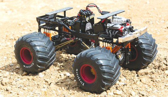 Homebuilt Project Excaliber Monster Truck Rc Car Action