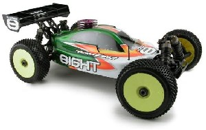 FIRST PICS! Team Losi EIGHT nitro buggy