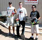 Team Losi Sweeps Two of Three at Off-Road Nats
