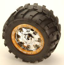 Pro-Line 40-Series Commando Bead-Loc wheels
