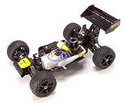 XTM Racing X-Cellerator EP stadium truck and XLB 1/7 scale nitro buggy