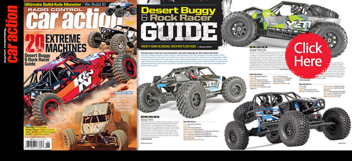 Desert Buggy & Rock Racer Guide: June Issue