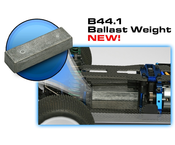 Team Associated Factory Team B44.1 Ballast Weight