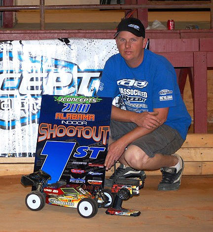 Alabama Indoor Shootout Wins for Ruona and Mitch