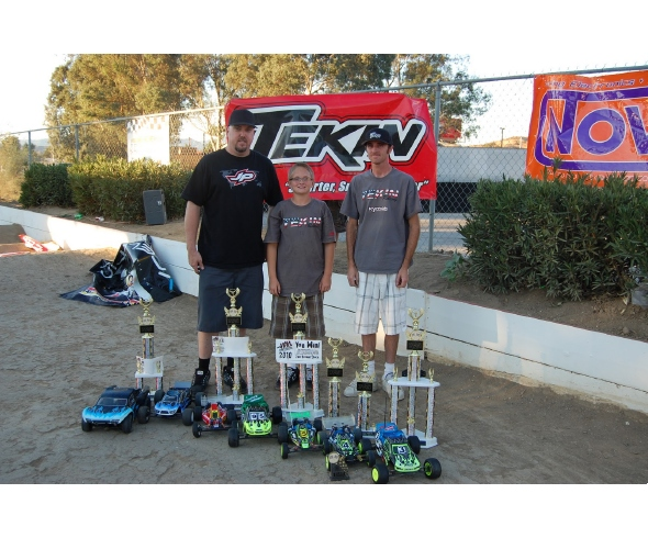 Tekin Dominates the JBRL Electric Series