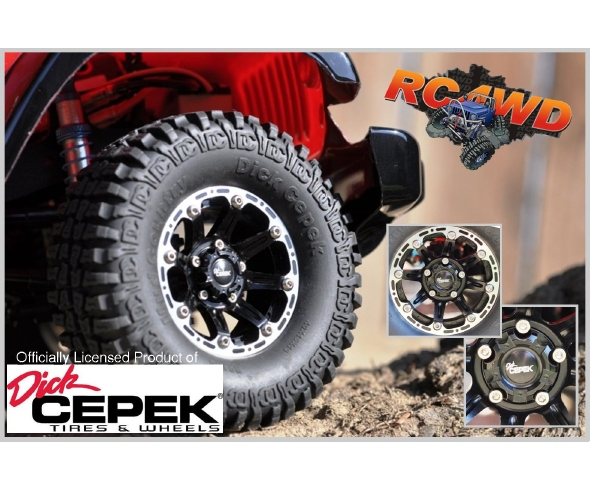 RC4WD Dick Cepek Torque Wheels