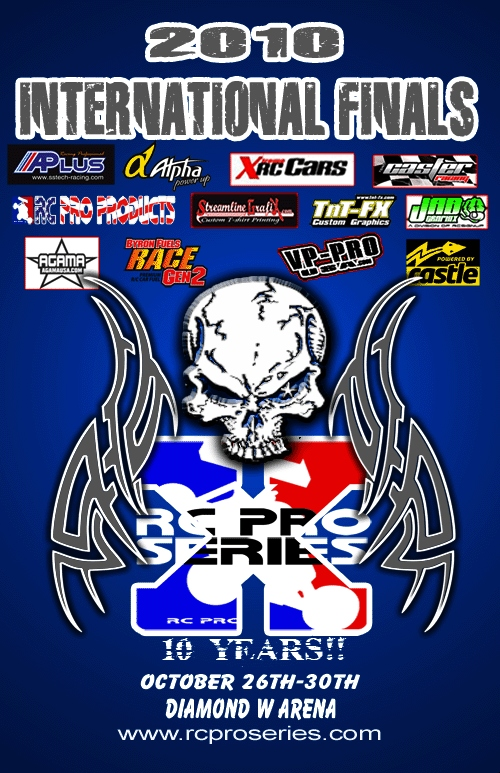2010 RC Pro International Finals Announced