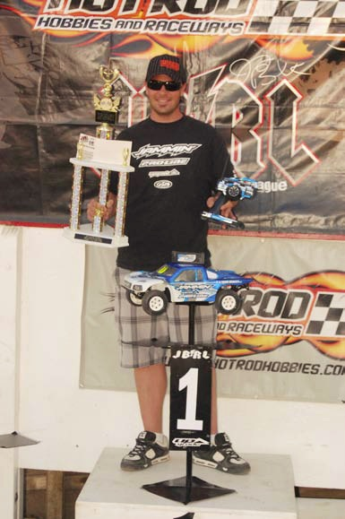 Chad Bradley wins 2010 JBRL Unlimited 4WD Short Course Class Series