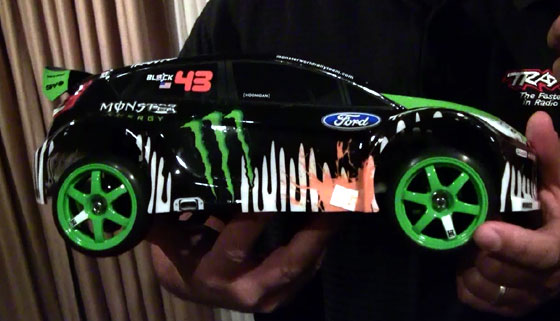 New Video: Ken Block Gymkhana car from Traxxas