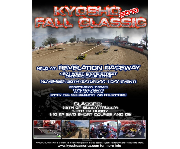 Kyosho Fall Classic Event