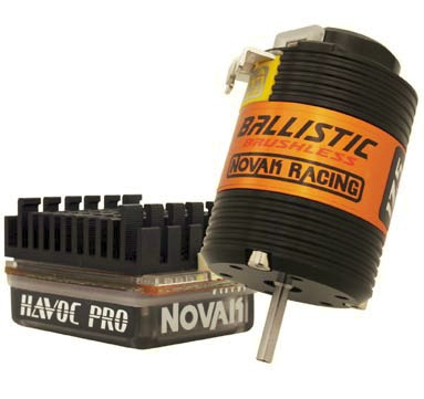Novak Gear: Havoc Pro SC brushless systems, Ballistic 540 & 550 stators
