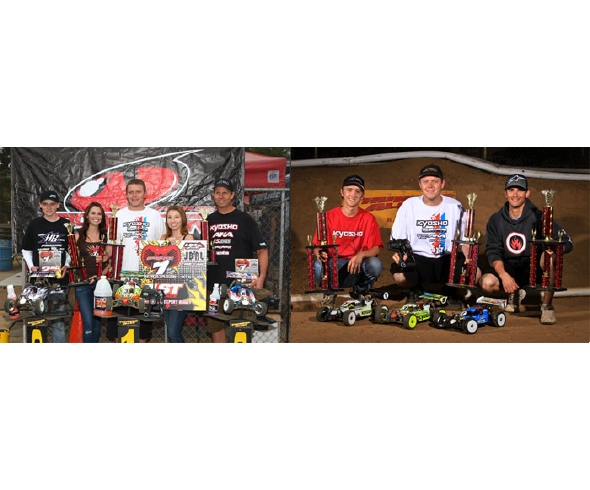 AKA Sweeps Nitro Buggy Classes at Sidewinder Race