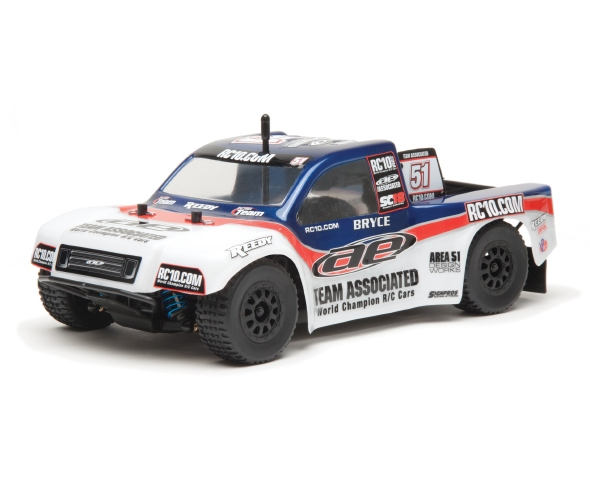 Team Associated SC18 Brushless 1/18 RTR 4WD Electric Off-Road Short Course Truck