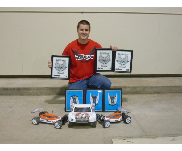 3 days, 3 classes, 3 TQ's and 3 wins for JConcepts