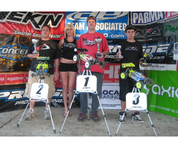 Jason Moberly wraps up the NorCal Series in 1/8 Electric Buggy