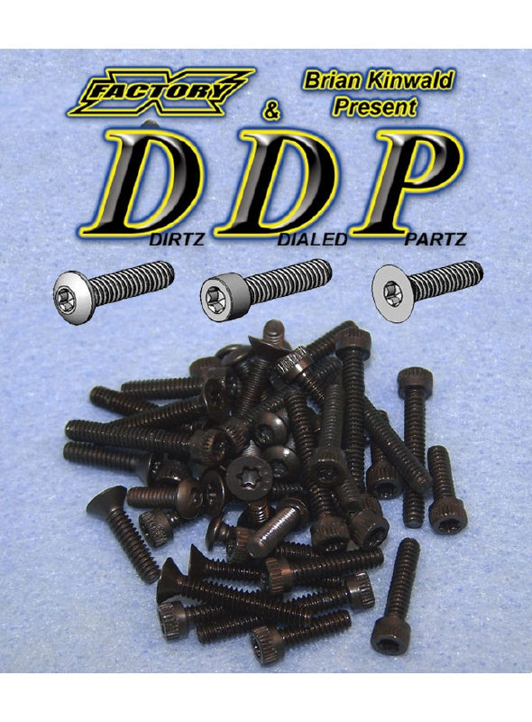 X Factory Dirtz Dialed Partz Torx Screw Kit