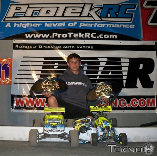 Austin Blair and Tekno RC win at NorCal Offroad Championships