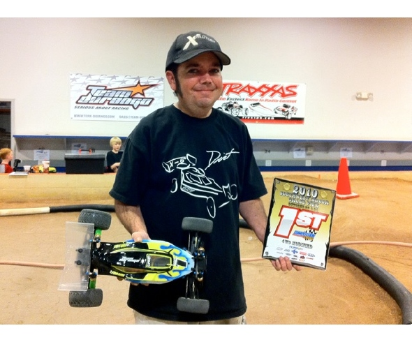 Brian Kinwald wins with DEX410