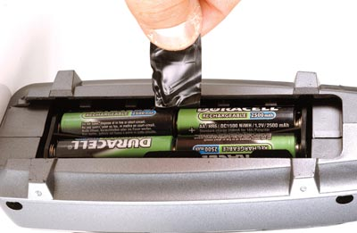 Battery-Tray Grab Handle