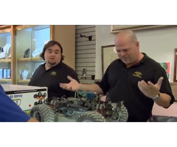 Team Associated Monster GT featured in recent episode of Pawn Stars