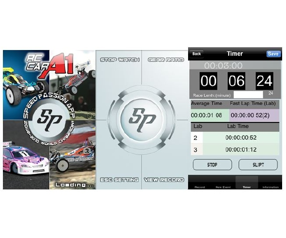 Speed Passion RC CAR A1 APP for Apple iPhone, iPad and iPod Touch