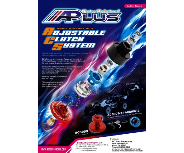 RC Pro Products A Plus Adjustable Clutch System