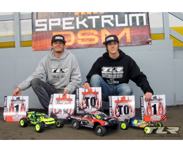 Team Losi Racing 22 Buggy Victorious in Debut at 2010 Spektrum Off-road Championships