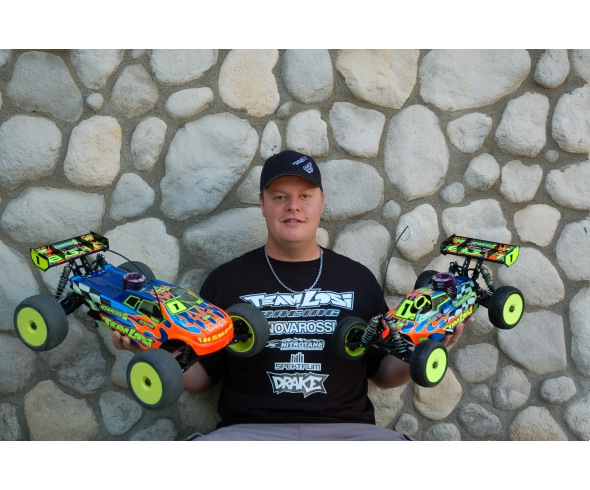 Drake doubles up in 1/8th buggy and 1/8th truck classes at the Kyosho Fall Classic