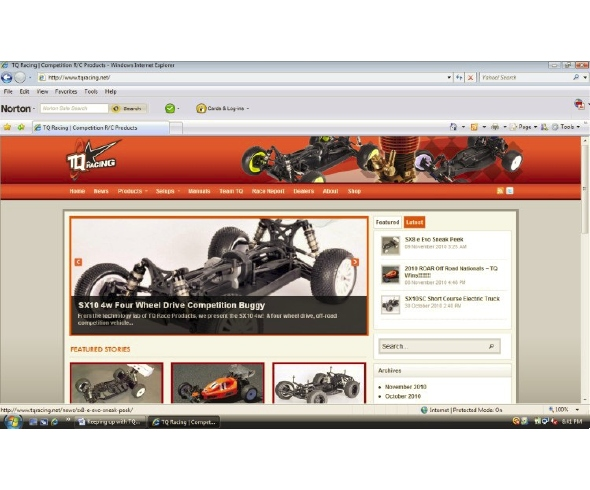 TQ Racing officially launches new website