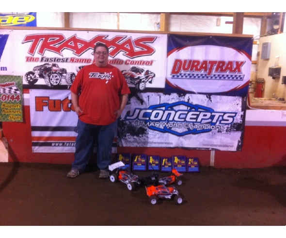 David Ronkoski tops the podium at the RCRB Fall Championship