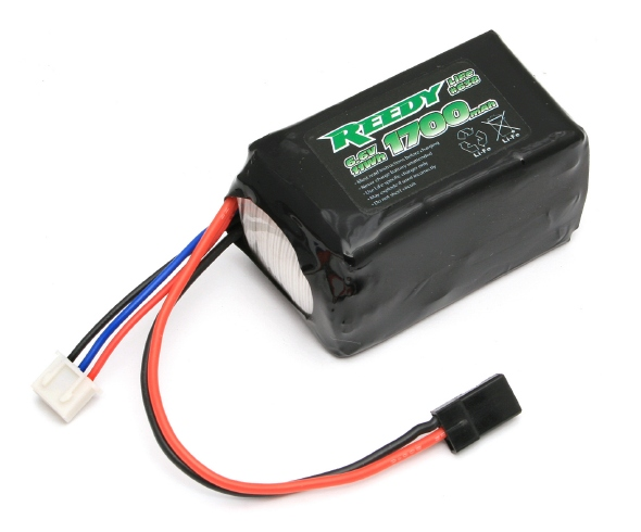 Reedy 1700mAh 6.6V LiFe Receiver Battery