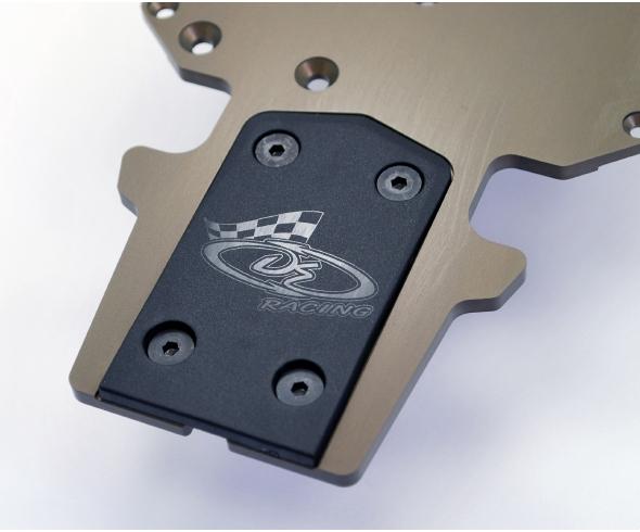 DE Racing Agama/OFNA/HoBao XD Rear Skid Plates and Agama/Serpent BumpSkids