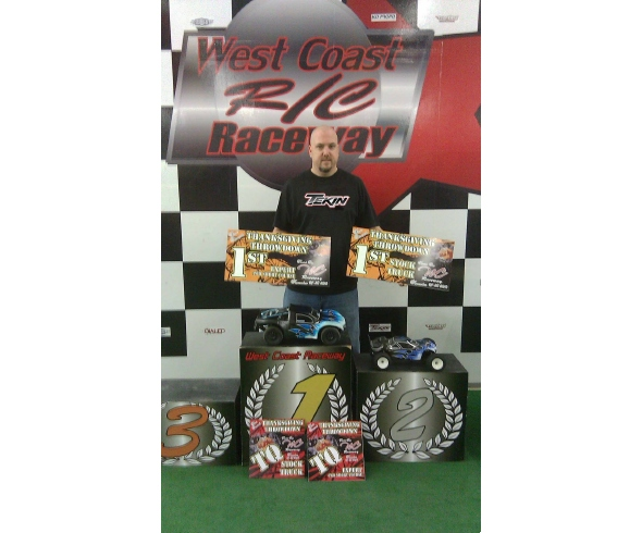 Kevin Smith dominates The 1st annual Thanksgiving Throwdown race at WCRC