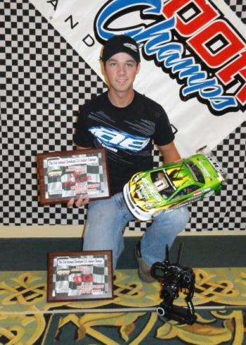 Reedy LiPo Powers Keven Hebert to Indoor Champs Win!