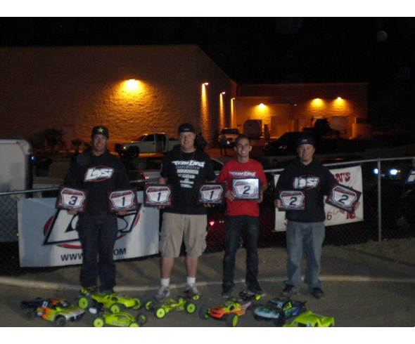 TLR wins at 6th annual Toys for Tots race at Palm Desert R/C Raceway