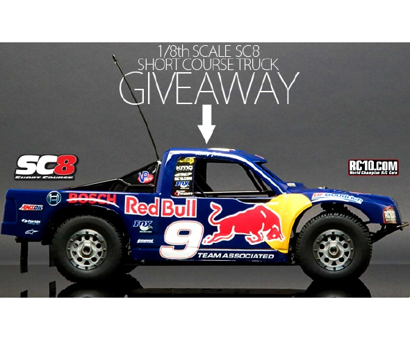 TransWorld Motocross and Team Associated SC8 Giveaway