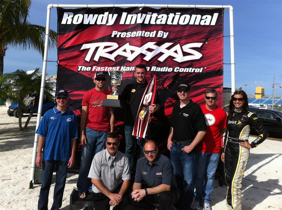 NASCAR Drivers Race Traxxas Spartans at Homestead