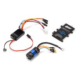 Losi Gear: 1/18 Mini Rock Crawler BL System and Aluminum Upgrades, RC Course Cones