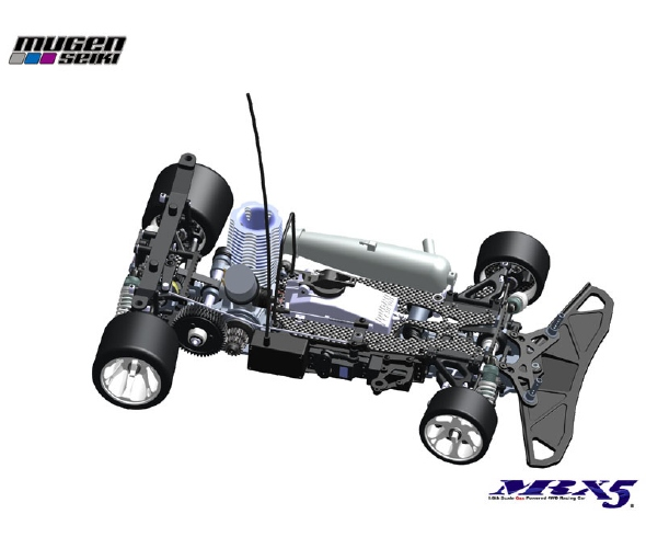 Mugen MRX5 1/8 GP Racing Car Teaser