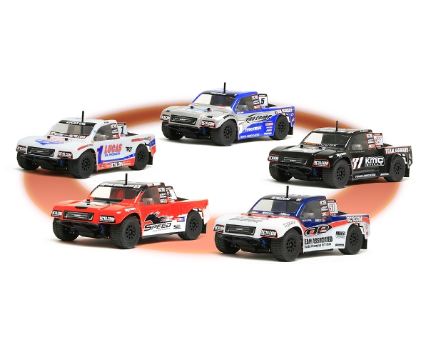 Team Associated SC18 Painted Bodies
