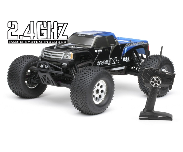 HPI Savage XL 5.9 and Savage Flux HP now come with 2.4ghz radio