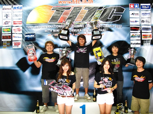 Atsushi Hara wins 2010 TITC with new Hot Bodies Cyclone touring car prototype